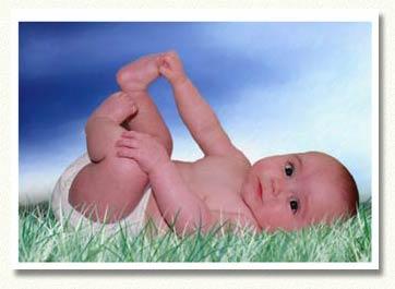 Trop mignon ce bebe couche sur l 39 herbe centerblog - Coucher bebe sur le cote ...